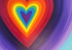 Rainbow Heart For Violet 2013