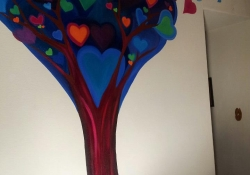 Heart Tree Mural Large 2012
