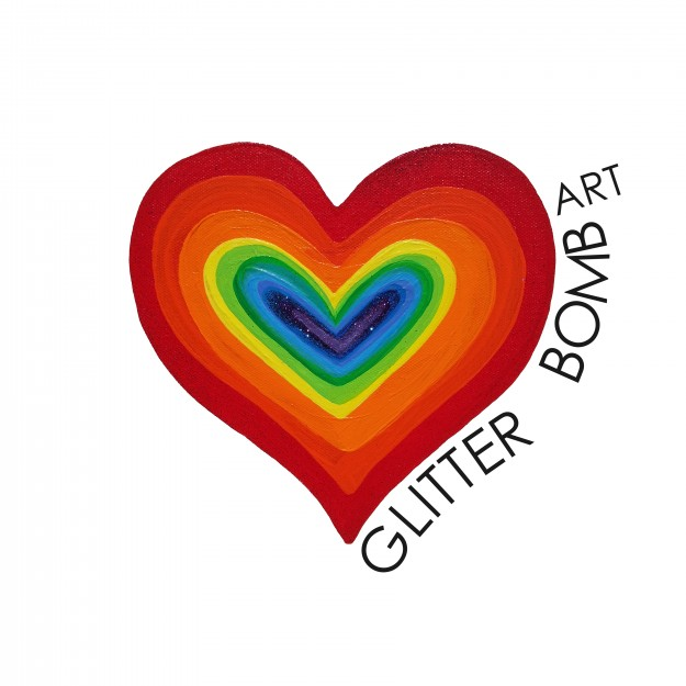 GlitterBombArt Logo Final no heart